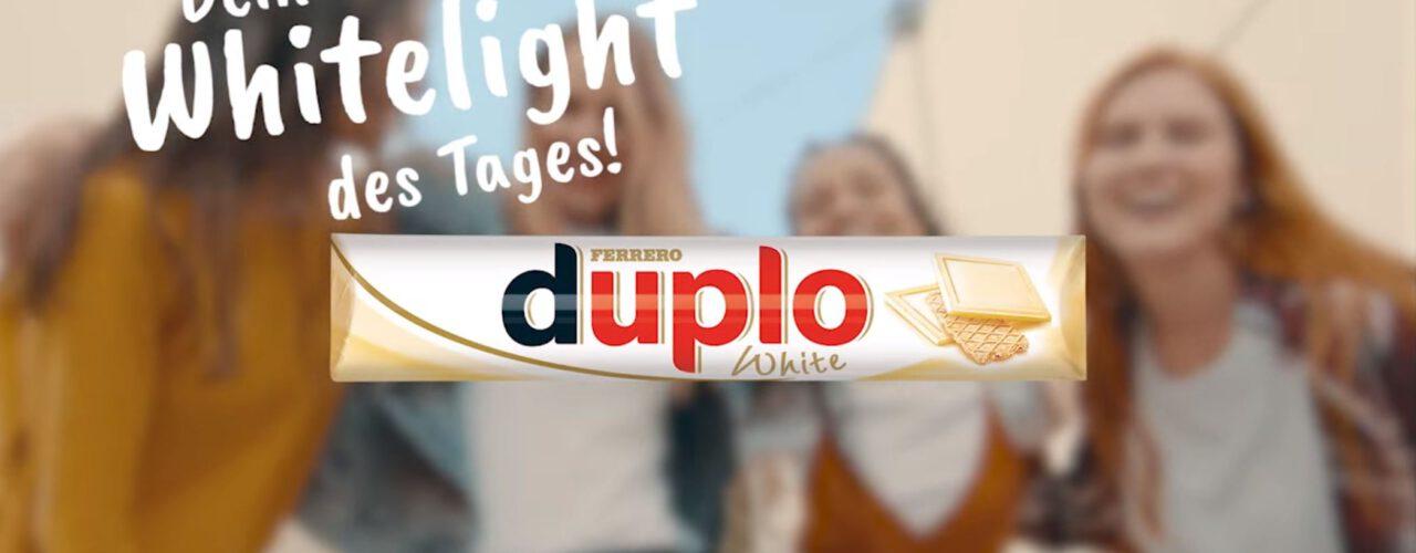 duplo White tv commercial